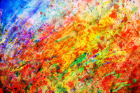 Colorful abstract painting. Colors background