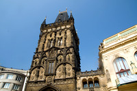 Prague. Powder gate - Prasna Brana