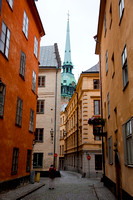 Stockholm, Sweden. Building in the old town