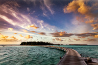 Maldives paradise sceneries