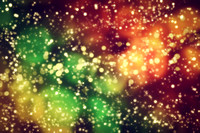 Galaxy, space abstract background. Stars, planets, lights